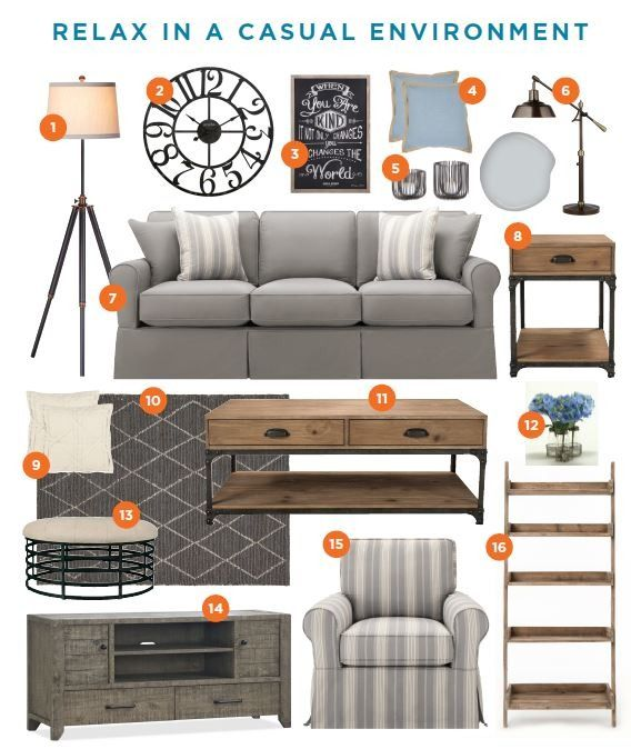 When MemeHill Studio designs it, you know it will be stunning. Pin her Casual Living Room, featuring Raymour & Flanigan products, for inspiration for your next makeover!