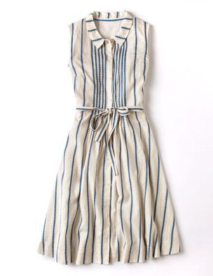 I've spotted this @BodenClothing Monte Carlo Dress Ivory/Mediterranean Blue