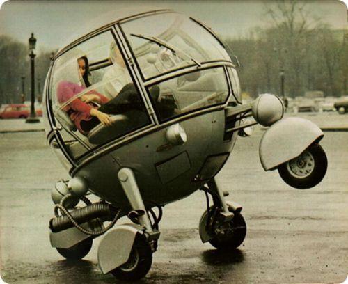 Prime 30 des idea vehicles futuristes du passé