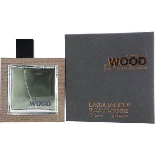 HE WOOD ROCKY MOUNTAIN by Dsquared2 Cologne for Men (EDT SPRAY 3.4 OZ) by HE WOOD ROCKY MOUNTAIN. $47.61. Year Introduced: 2009. Size: 3.4 OZ. 100 % Genuine Fragrance.. Concentration: Eau De Toilette. Recommended Use: daytime. 100% Authentic HE WOOD ROCKY MOUNTAIN by Dsquared2 Cologne for Men (EDT SPRAY 3.4 OZ). Manufactured by the design house of Dsquared2. HE WOOD ROCKY MOUNTAIN for MEN possesses a blend of violet, white pepper and lily. This product was rel...