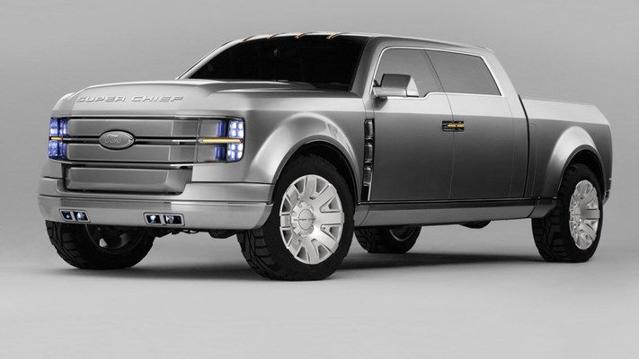 Concept Truck Of The Week Ford Super Chief 2006 Car Design News