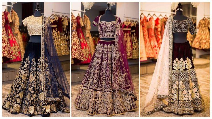 Indian Bridal Lehengas | Latest Bridal Lehenga Designs/Beautiful Bridal ...