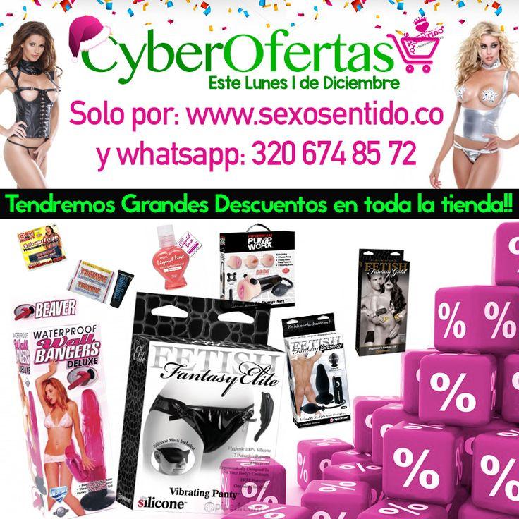 Celebramos las CyberOfertas Sexo Sentido, entra ya a sexosentido.co/tienda y aprovecha las rebajas que tenemos para ti, están imperdibles!! (Valido solo para pedidos por la web o whatsapp)   #promociones   #cyberlunes   #Colombia   #Medellin   #Cali   #cartagena   #putumayo   #barrancabermeja   #bogota   #santamarta   #valledupar   #pasto   #popayan   #santander  y el resto del país