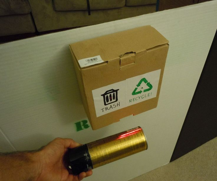 UPC Barcode Recycling Scanner