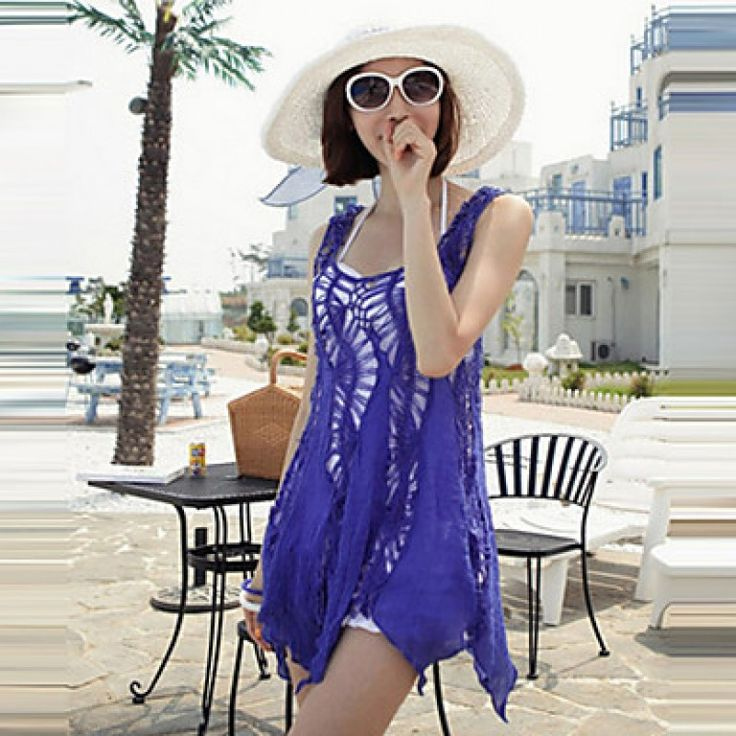 2015 fashion swimwears bathing suit cover ups sexy crochet blue lace pareo beach dress summer bikini swimsuit cover up #coverups    #bikini #nzswimwear