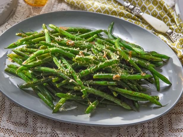 Get Zesty Lemon Green Beans Recipe from Cooking Channel