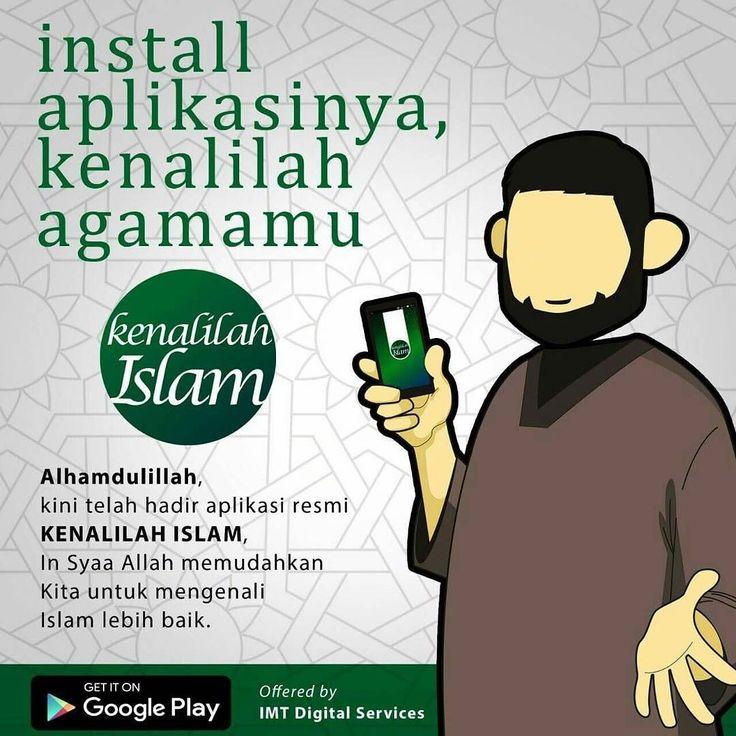 "Assalamu 'alaykum... Dapatkan beragam artikel Islam penuh manfaat di ""Kenalilah Islam"" - Gratis dan Bebas Iklan. Disajikan secara singkat dan ringan semoga memudahkan umat untuk lebih mengenal Islam.  Mau Cara Mudah Belajar Islam? app in ""Kenalilah Islam"" aja  Segera download di play store!  klik atau copas aja link- ini... http://ift.tt/2cZi35M  ps: di app KI ada menu eTranskasi juga.. memudahkan sahabat KI untuk beli pulsa beli token bayar telpon dan transaksi PPOB lainnya. Mudah…"