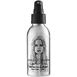 """Charlotte Ronson """"A perfect mess beach hair"""" Perfect for when I don't have time or don't want to dry my hair, I can just spritz, lightly scrunch my hair, and go...and my hair dries in nice beach-y curls.  It smells good too!"""