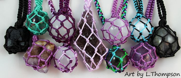 Original jewelry handmade by the artist L. Thompson.