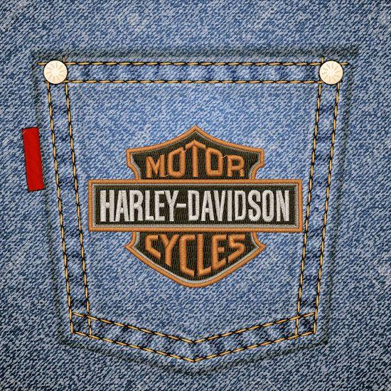 Free machine embroidery design harley davidson logo
