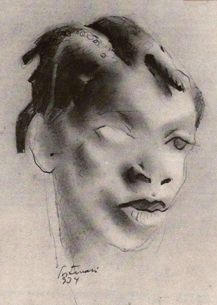 A negra carvão - Portinari, 1934