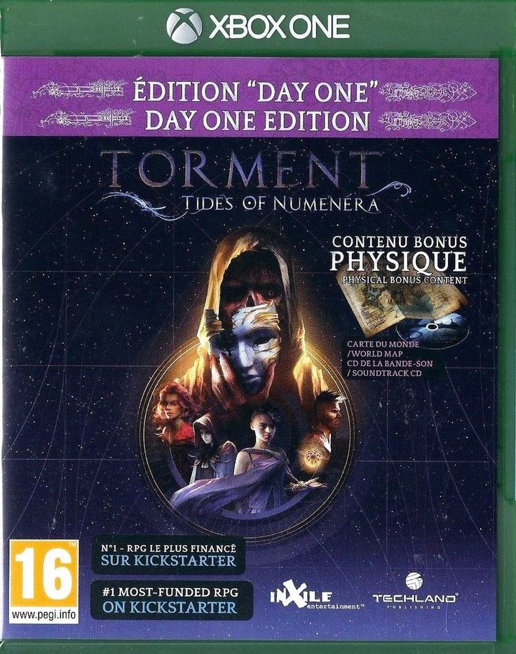 Xbox One Torment: Tides of Numenera (Day One Edition) BRAND NEW