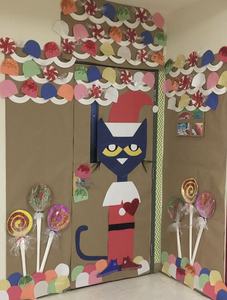Classroom Holiday Decor ~ Best images about decorating classroom door on