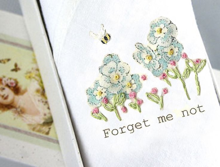The Forget me not hankie, made with love by our Bulgarian women from disadvantage backgrounds. Tamielle provides them with work and the self esteem that comes from creating something beautiful with their own hands.
