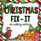 Christmas is coming - and so is another fix-it freebie!  My kiddos look forward to the next version of our Fix-It activity.  Sometimes I make ...