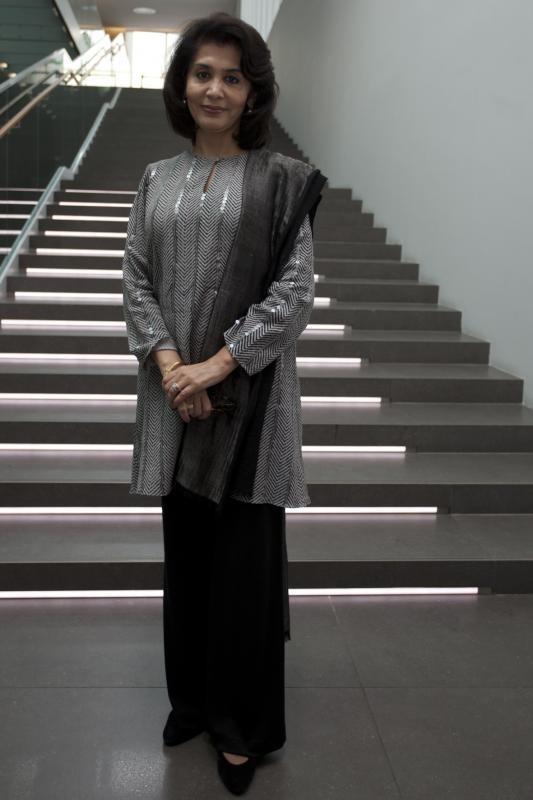 Mrs. Tasneem Zakaria Mehta, Managing Trustee and Honorary Director of the Dr. Bhau Daji Lad Museum, Mumbai City Museum