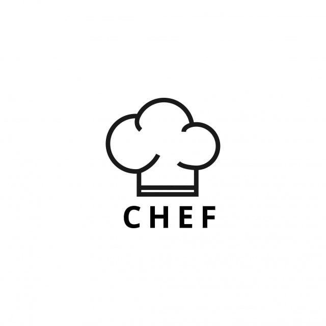 الخلفية شارة مخبز العلامة التجارية الأعمال مقهى غطاء شيف مفهوم كوك الطبخ جميل المطبخ تصميم العشاء عنصر شعار شق Logo Design Template Logo Design Design Template