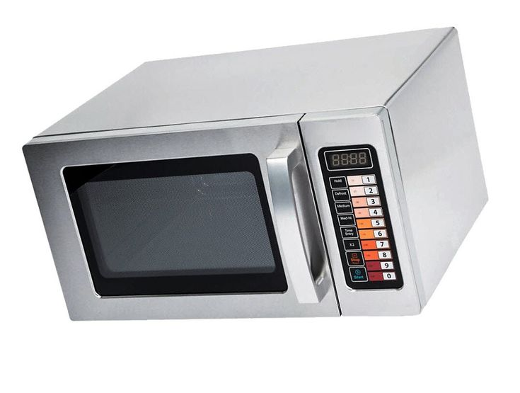 Microwave Special Offer Stainless Steel Commercial Microwave with Push Button Control - 120V, 1000W Now on Sale Price for a limited time only (Stainless Steel, 0.9 cu. ft 1000W)