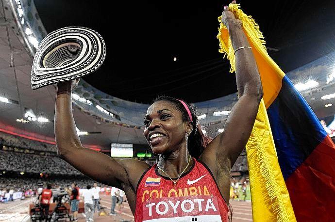 Caterine Ibargüen ganó otra medalla de oro para Colombia en Pekín [http://www.proclamadelcauca.com/2015/08/caterine-ibarguen-gano-otra-medalla-de-oro-para-colombia-en-pekin.html]