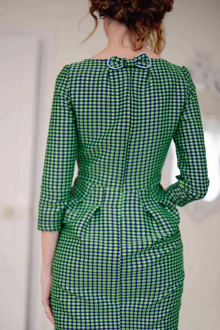 Couture robe courte - Le vert, le nouveau noir