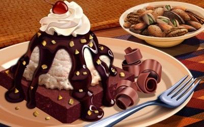 Food - dessert choco
