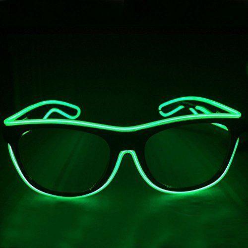 Luminous Glasses Festival Solid Love Xmas Halloween Party Club Sunglasses