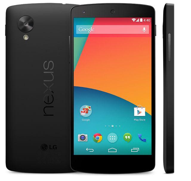 Google Nexus 5 16 GB en 32 GB