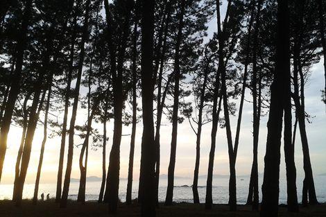 Playa de Samil, Vigo (España)