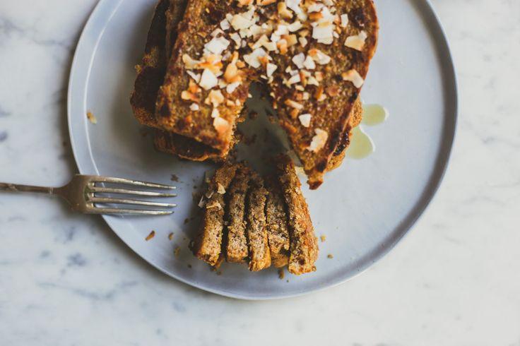 Vegan wentelteefjes, de luxe editie. Het perfecte weekendontbijt!