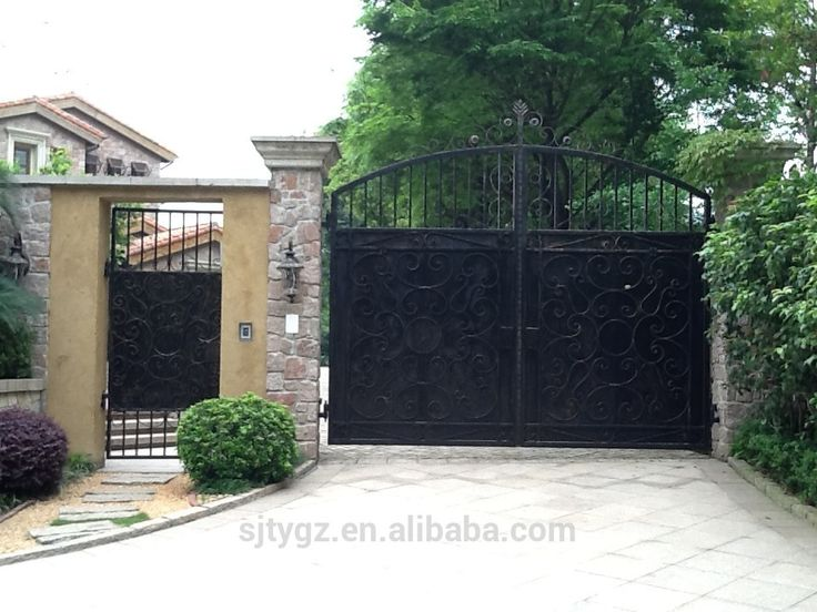 The new style house iron gate design