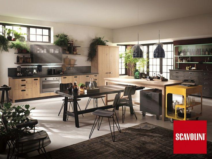 designové kuchyně Scavolini