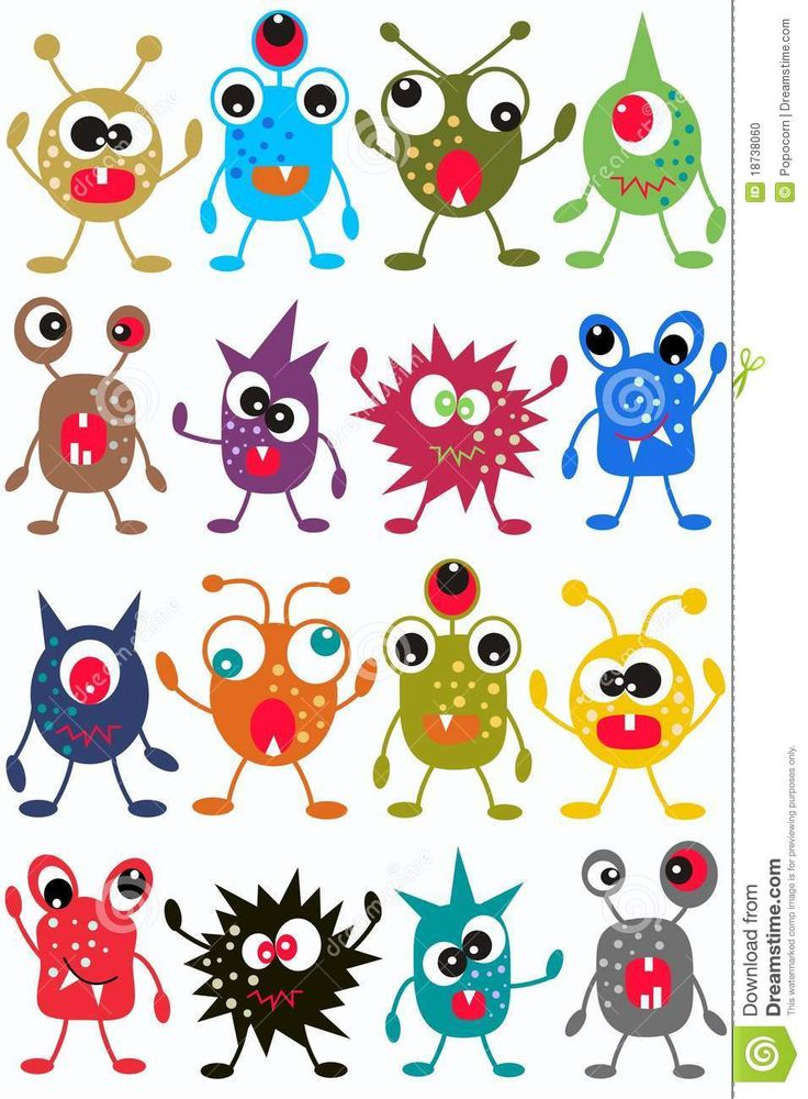 Seamless Monster Pattern - Download From Over 29 Million High Quality Stock Photos, Images, Vectors. Sign up for FREE today. Image: 18738060