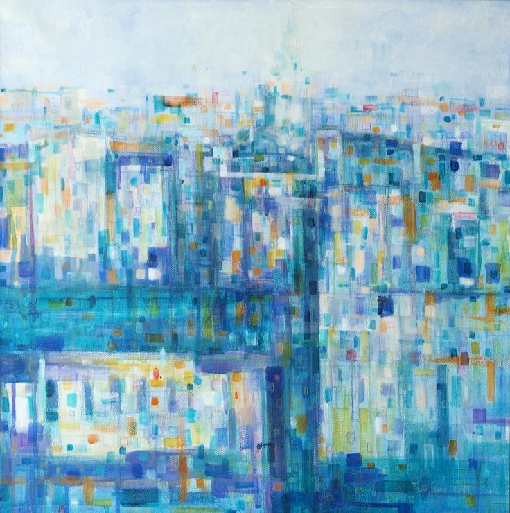 acryl/oil on canvas,50x50cm