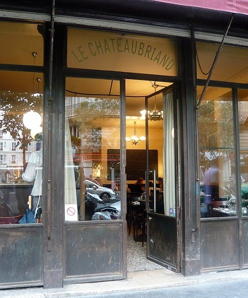Le Chateaubriand 129, avenue Parmentier Paris (75011) MÉTRO : Goncourt & Parmentier