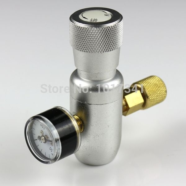 Премиум регулируемый компактный CO2 инжектор, 0 ~ 150 фунтов на квадратный дюйм, Анодированный алюминиевый корпус, принадлежащий категории Барная посуда и относящийся к Для дома и сада на сайте AliExpress.com   Alibaba Group