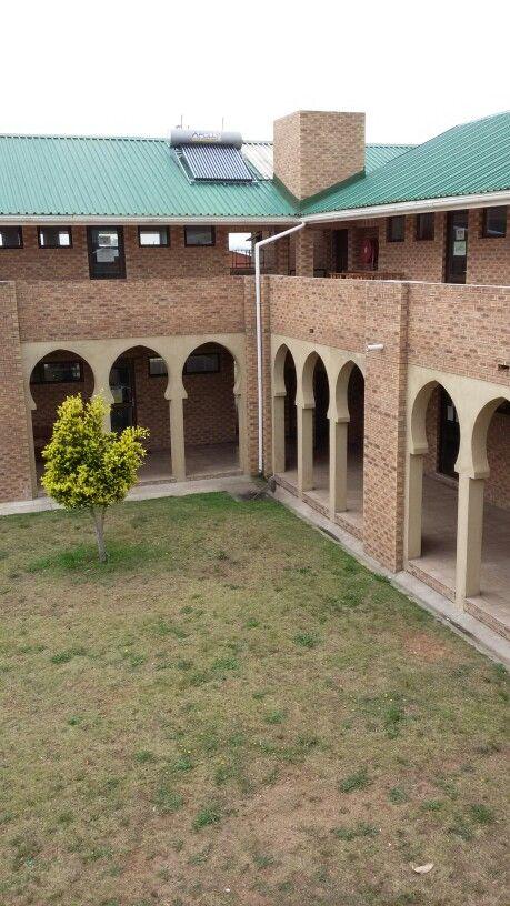 Darul Uloom Abu Bakr courtyard, Port Elizabeth