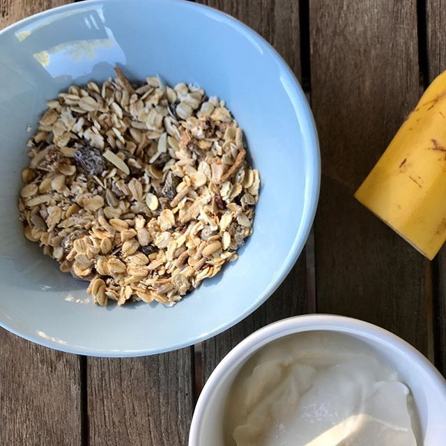 Breakfast still life.