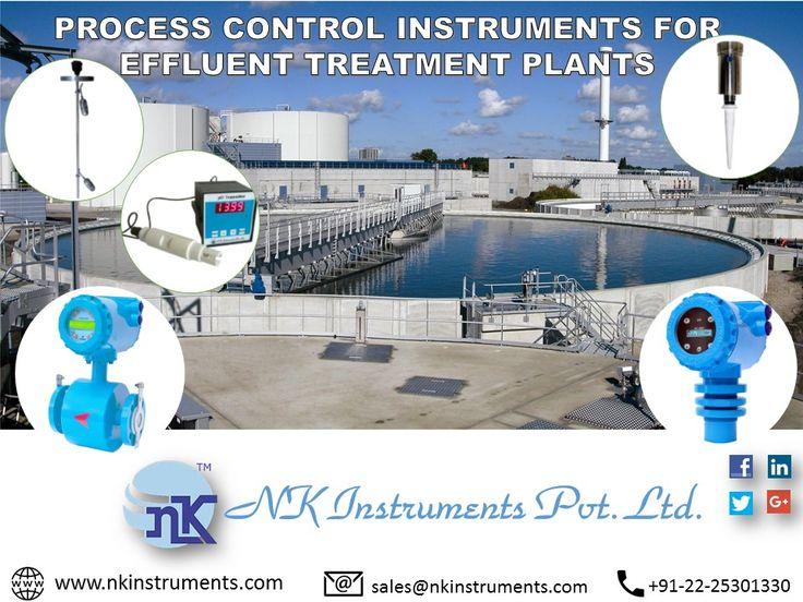 PROCESS CONTROL INSTRUMENTS FOR EFFLUENT TREATMENT PLANTS  www.nkinstruments.com