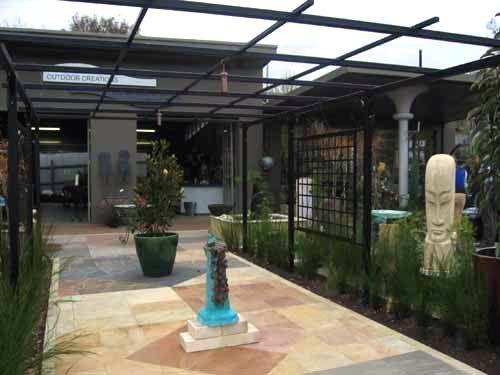 Wrought Iron Pergolas   Gardens Of Steel Pergola At The Entrance To U0027 The  Garden Studiou0027   Backyard   Pinterest   Iron Pergola, Steel Pergola And  Pergolas