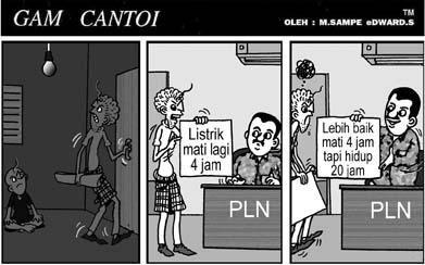 GAM CANTOI DAN PLN