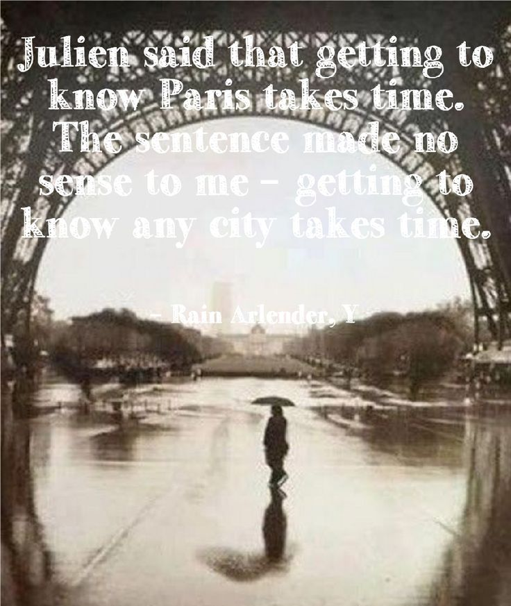 Paris Julien ebook kindle quote Y Rain Arlender http://www.amazon.com/Y-Rain-Arlender-ebook/dp/B00LPMOOP4