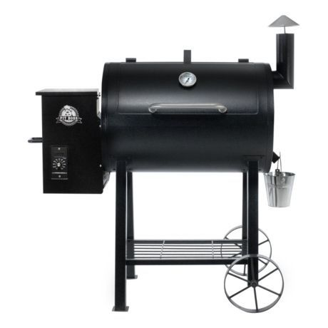 Add delicious natural wood smoke to your favourite grilling recipes with the Pit Boss Pellet Grill. An 820-sq.-in. cooking surface provides the perfect setup for large or small groups. Digital control and temperature probe allow smoking, baking or searing at consistent temperatures be