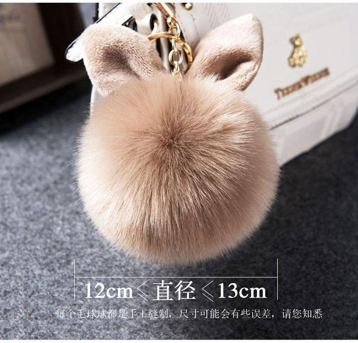 Как сделать кролика брелок из меха