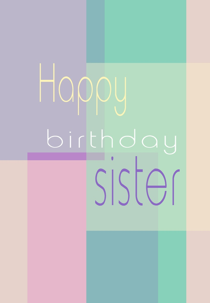 Happy Th Birthday Sister Cards Printable Free Best Images About Print