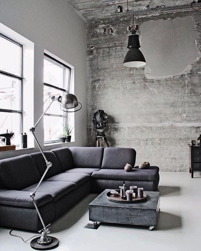 Consulta Esta Foto De Instagram Industrial Interior O 554 Me Grey DesignIndustrial
