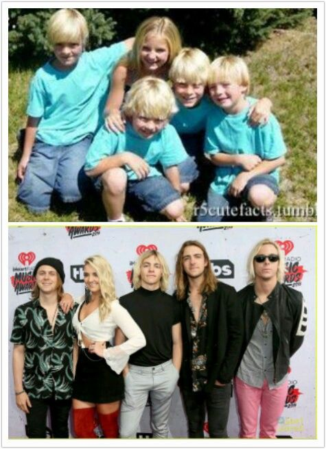 R5 then& now