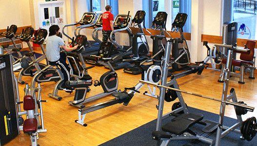 Abertay university gyms high school education university
