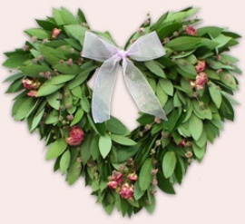 eucalyptus wreaths- this one is really pretty