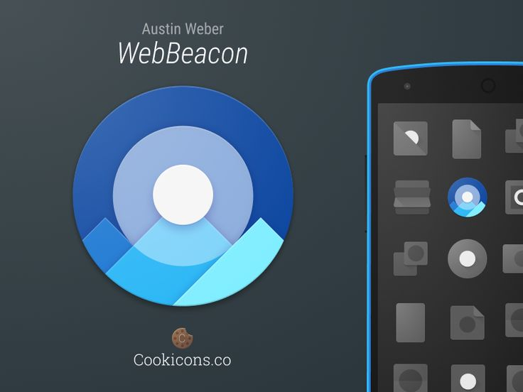 WebBeacon product icon by Michael Cook