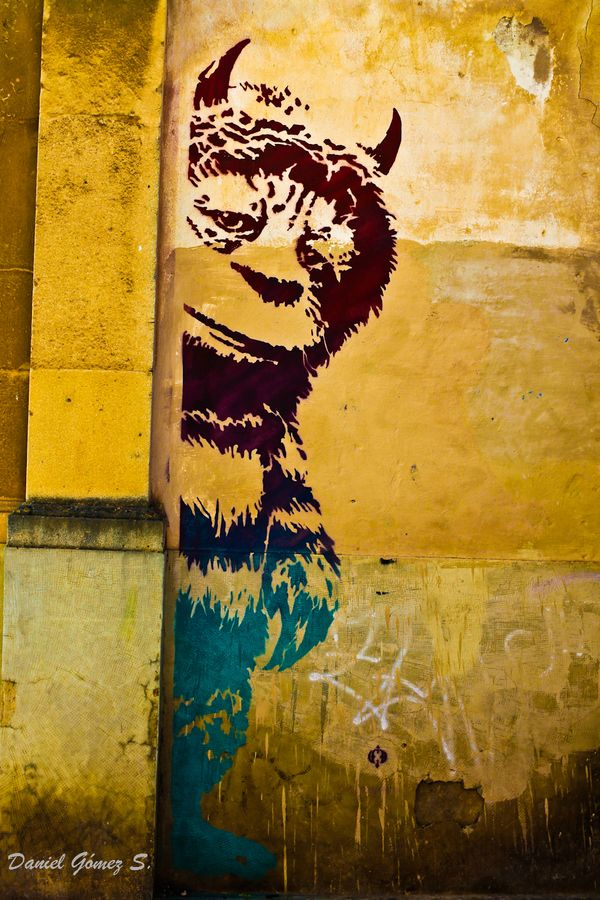 Where the wild things are #street art #graffiti